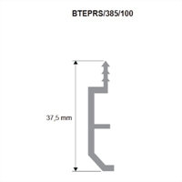 Supporto BTEPRS385 per battiscopa BTEPR 70x16